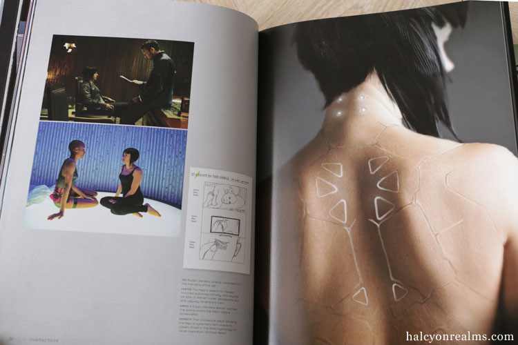 The Art Of Ghost In The Shell 2017 Book Review Halcyon Realms Art Book Reviews Anime Manga Film Photography