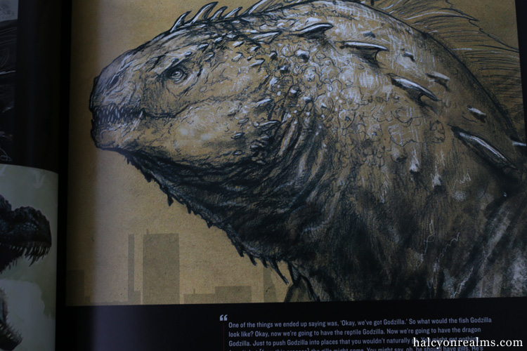Godzilla - Art Of Destruction Book
