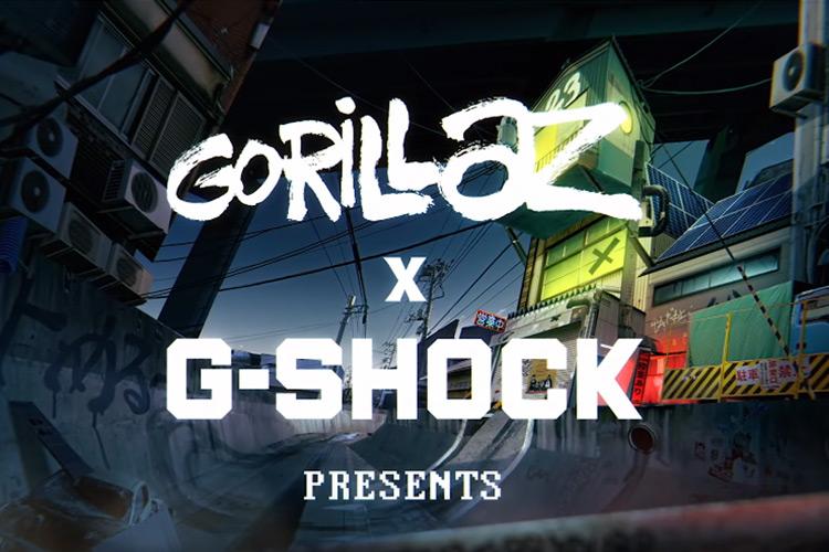 Gorillaz x G-Shock Animated Short
