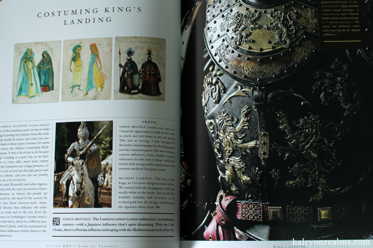 Inside HBO's Game Of Thrones Book
