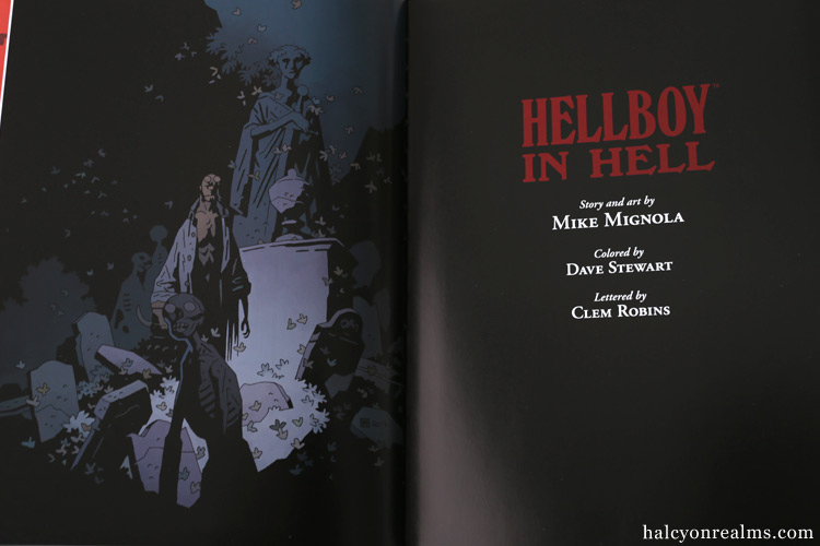 Hellboy In Hell Library Edition Book Review