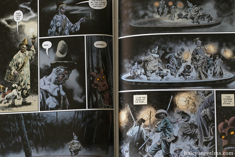 Hellboy - The Midnight Circus Comic Book Fegredo