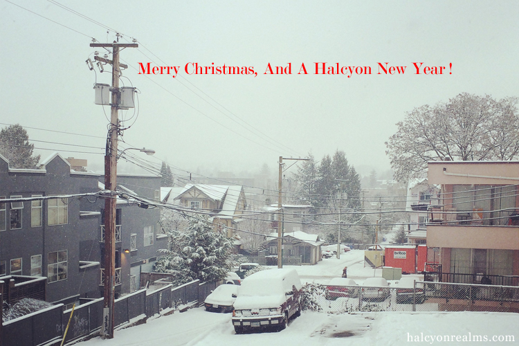 Merry Christmas, And A Halcyon New Year ! 2017