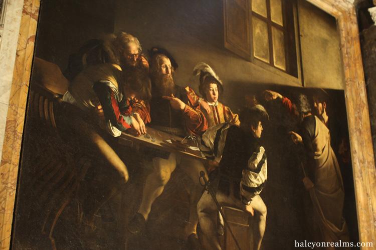 Caravaggio Masterpieces in Contarelli Chapel Rome