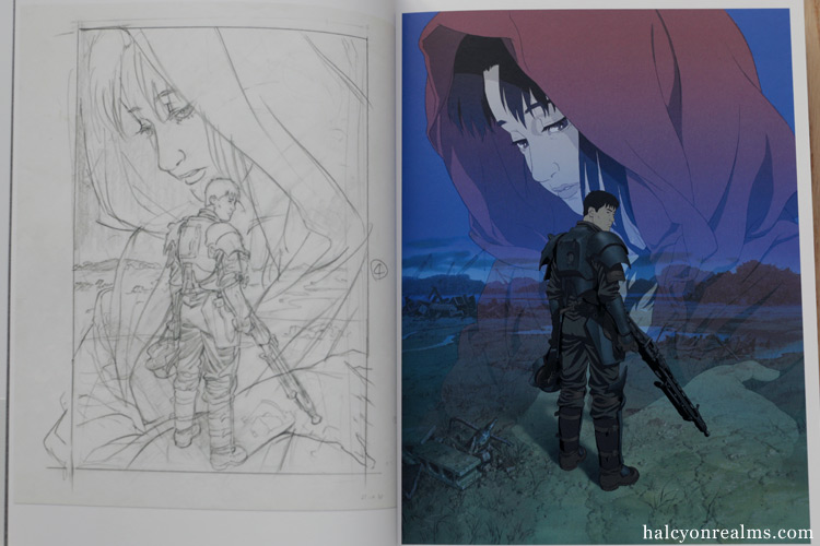 Jin-roh - The Wolf Brigade Storyboard Art Book Review