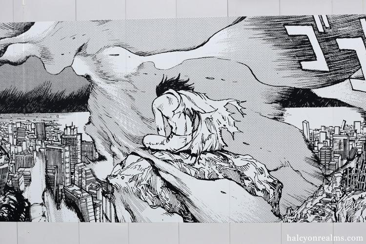 Akira Murals At Shibuya Parco Tokyo June 2018 Halcyon Realms Art Book Reviews Anime Manga Film Photography