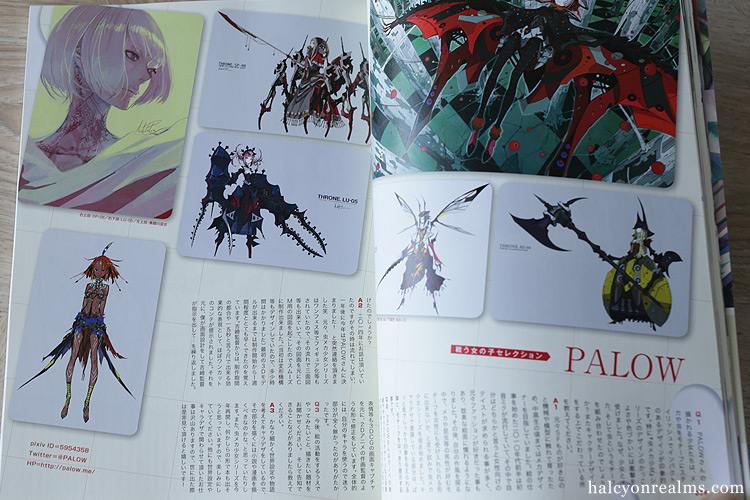 Character Design Quarterly Review : Kikan s illustration magazine no book review halcyon