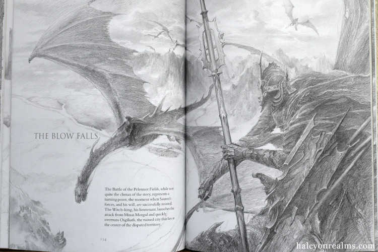 The Lord Of The Rings Sketchbook ( Alan Lee ) Review