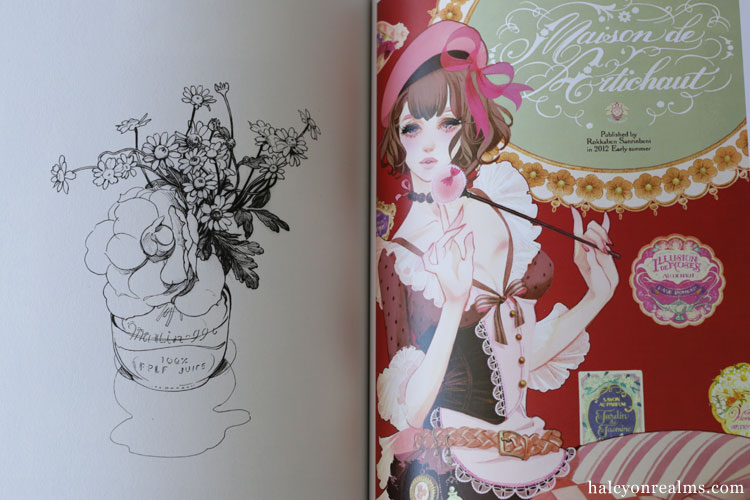Matsuo Hiromi - Illustration Making & Visual Book Review
