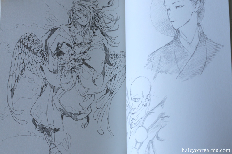 Musubi - Munku Mutsuki Illustration Works Art Book Review