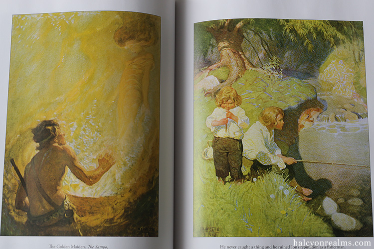 N.C. Wyeth - Great Illustrations Art Book