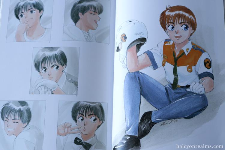 Patlabor Pulsation - Akemi Takada Art Book Review