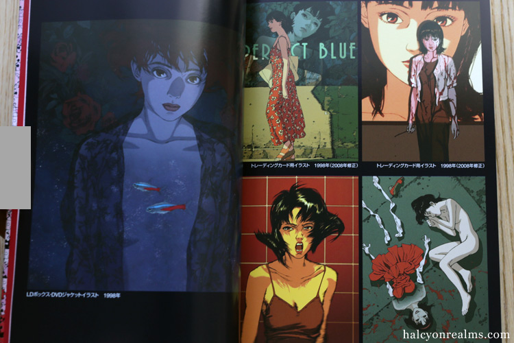 Perfect Blue Storyboard Book Review 2019 Edition Halcyon Realms Art Book Reviews Anime Manga Film Photography