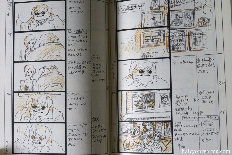 Porco Rosso Ghibli Storyboard Art Book