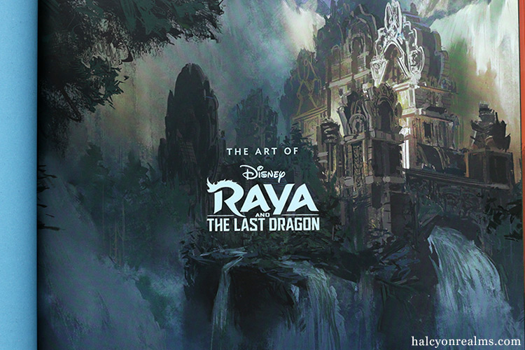 The Art Of Raya And The Last Dragon Book Review