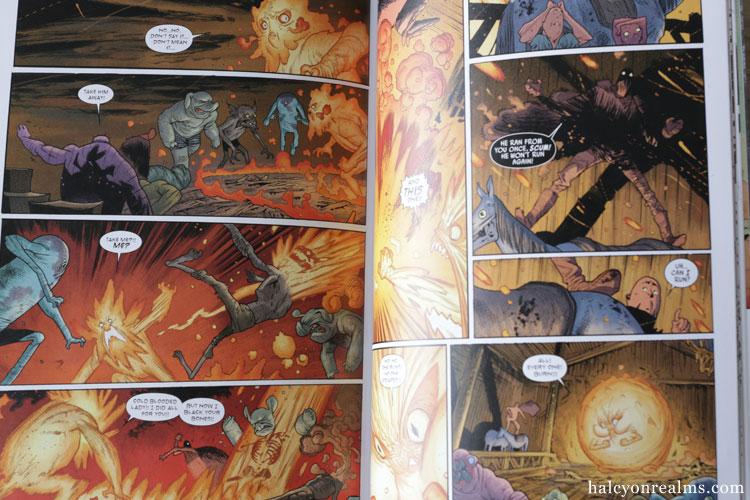 Rumble - James Harren Comic Book Review