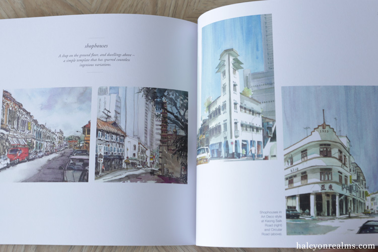 Scenes Of Singapore - Foo Kwee Horng Art Book