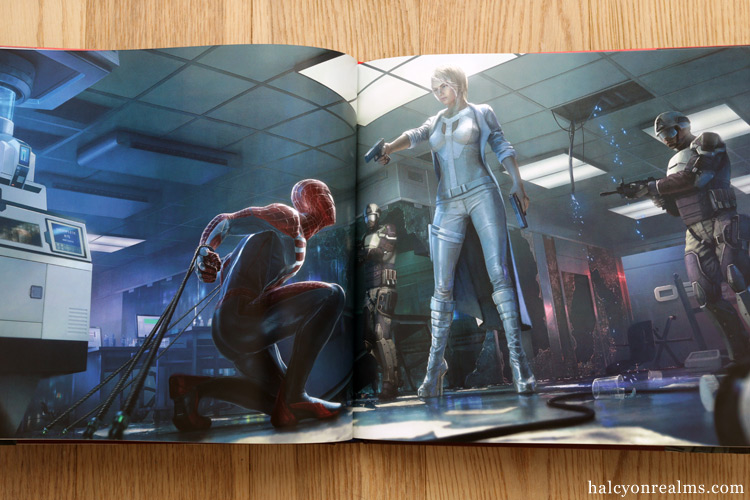 Marvel's Spider-Man: The Art of the Game Book Review