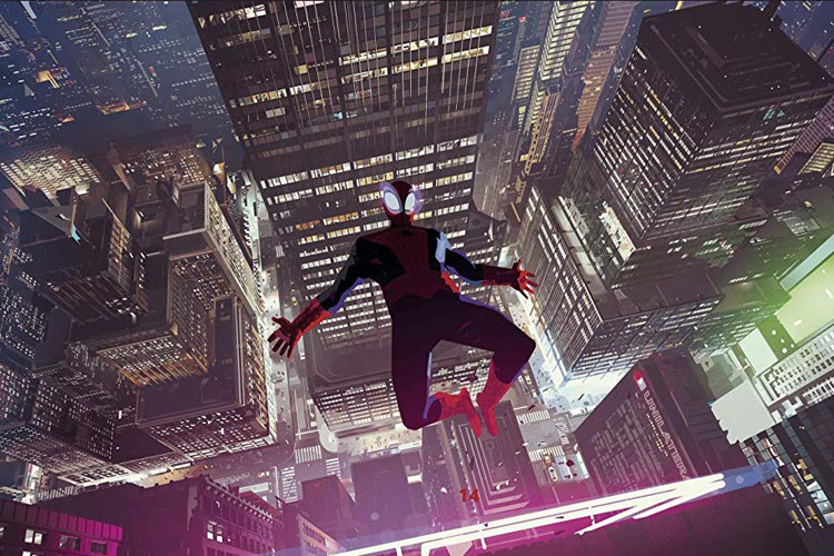 Spiderman - Into The Spiderverse Concept Art