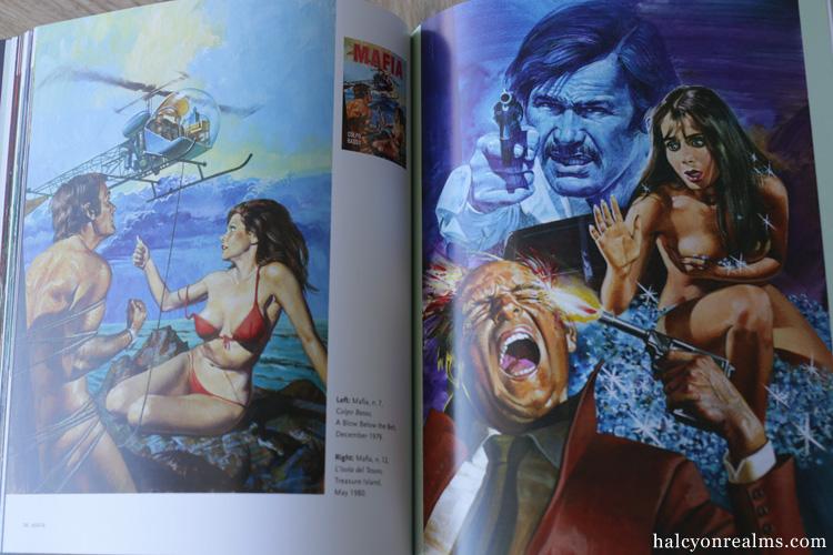Sex And Horror - The Art of Emanuele Taglietti Book