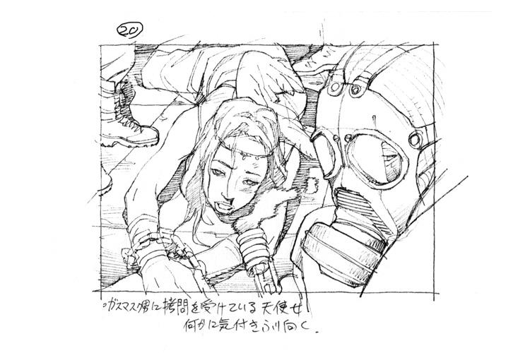 Tatsuyuki Tanaka Rough Sketches And Layout Boards