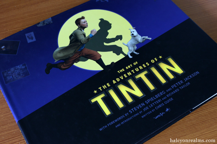 The Art Of The Adventures Of Tintin Book