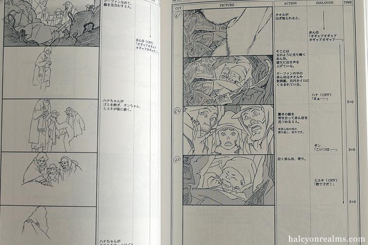 Tokyo Godfathers Satoshi Kon Storyboard Collection from Japan NEW