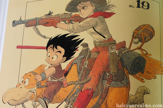 The Art Of Toriyama Akira The World Special Art Book Review Halcyon Realms Art Book Reviews Anime Manga Film Photography
