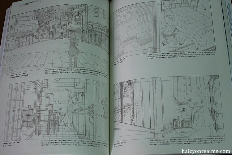Wolf Children Art Book Part II : Layout And CG
