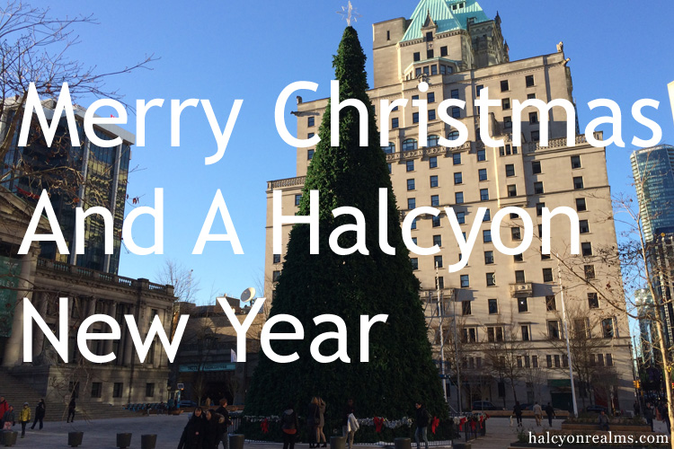 Merry Christmas, And A Halcyon New Year ! 2018