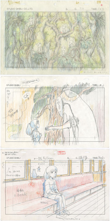 Studio Ghibli Layout Exhibition