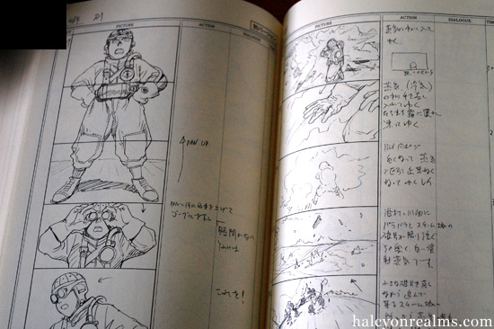 The Storyboard Book Steamboy