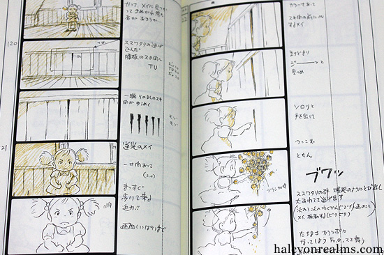 The Art Of Totoro - The Storyboard Book - Halcyon Realms - Art