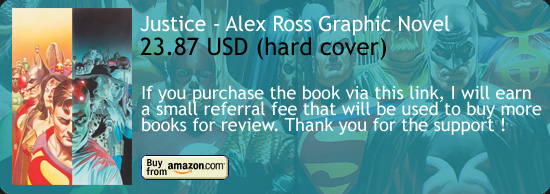 Justice - Alex Ross Graphic Novel Amazon Buy Link