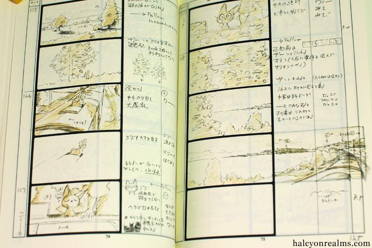 Kiki/'s Delivery Service Studio Ghibli Storyboard book
