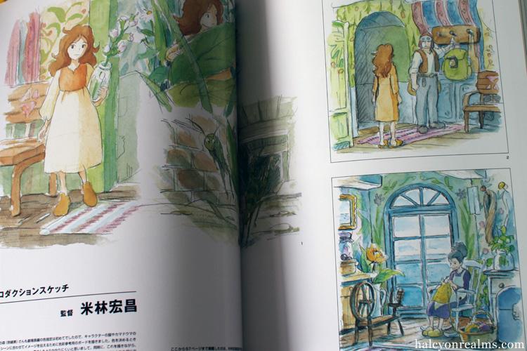 The Art Of Kari-gurashi (Arrietty) Ghibli Book
