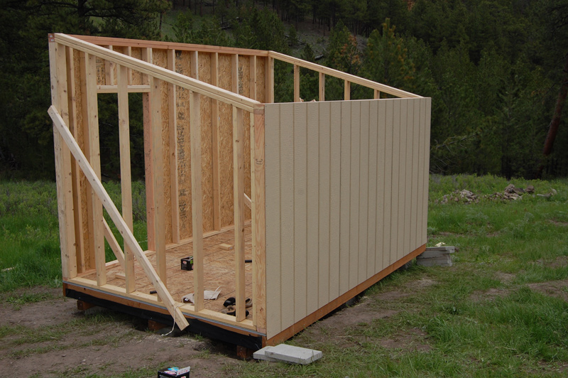 Building A Raised Floor Shed Easy Way To Build A Garden