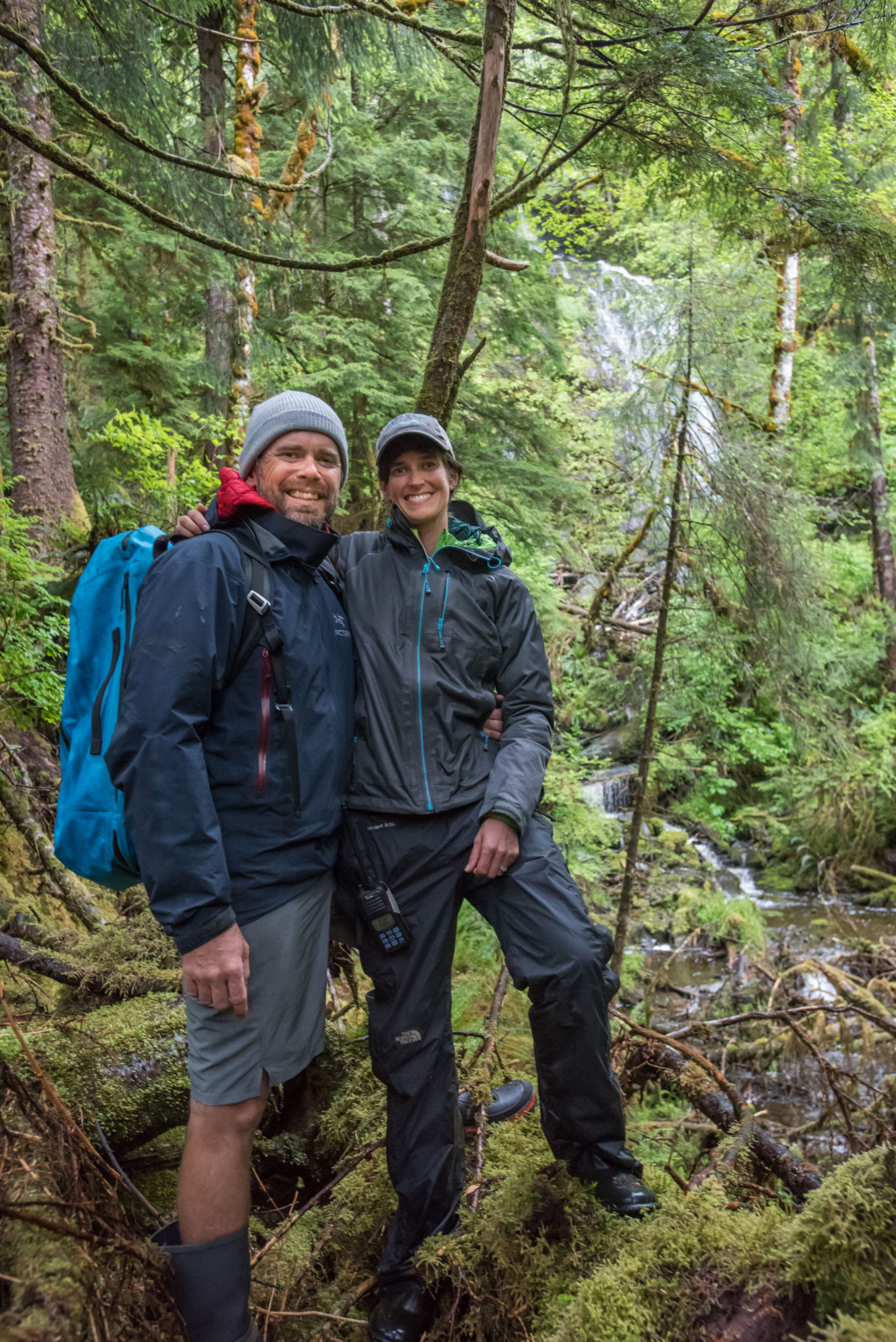 haida gwaii waterfall hike