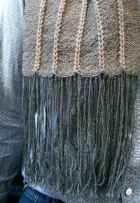 Chain Reaction Woven Scarf Pattern Download, Weaving ...