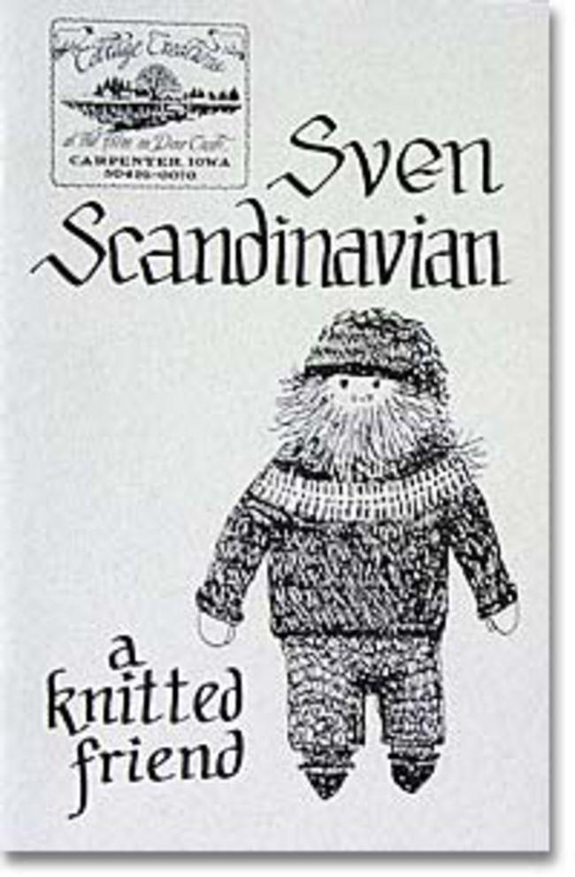 Sven Scandinavian: A Knitted Friend, Knitting Book
