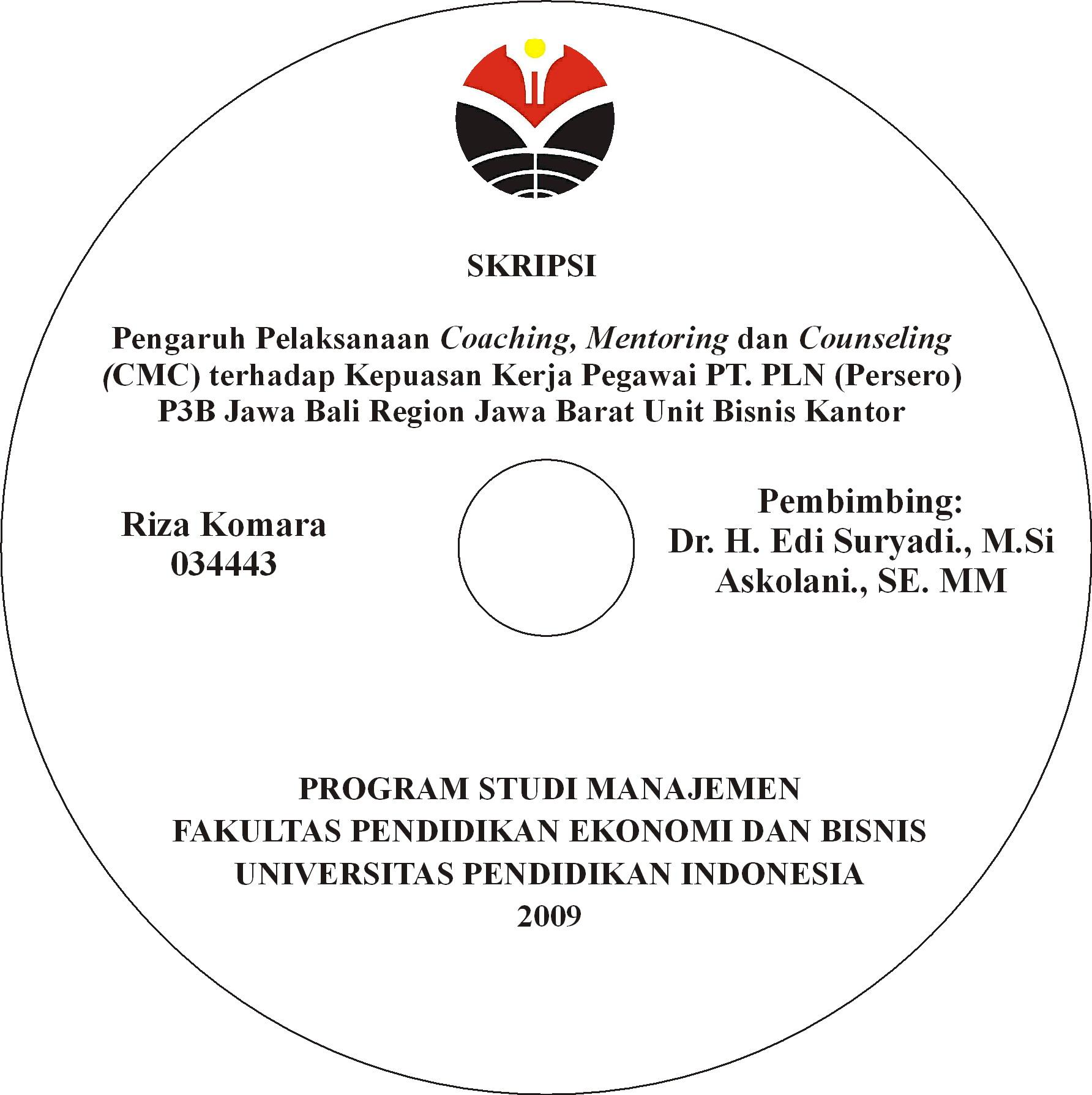Label CD Skripsi