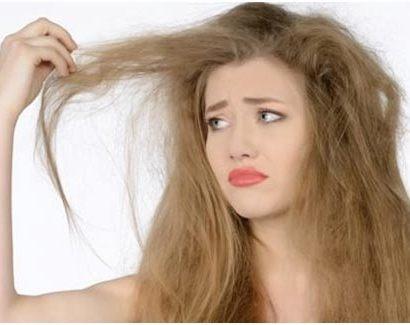 hair dryness