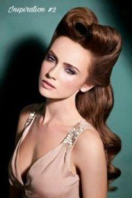 Vintage-inspired hairstyles