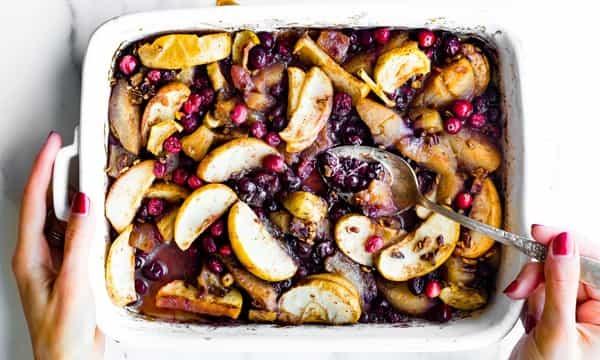 fruit casserole