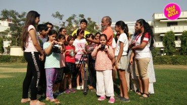Film Making Workshop by Amitabha Singh at Roots and Wings