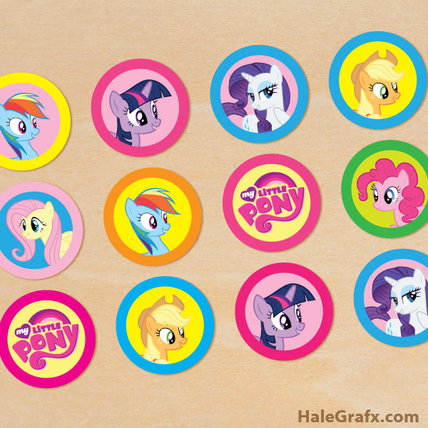 My Little Pony And Friends Cake Decorating Kit