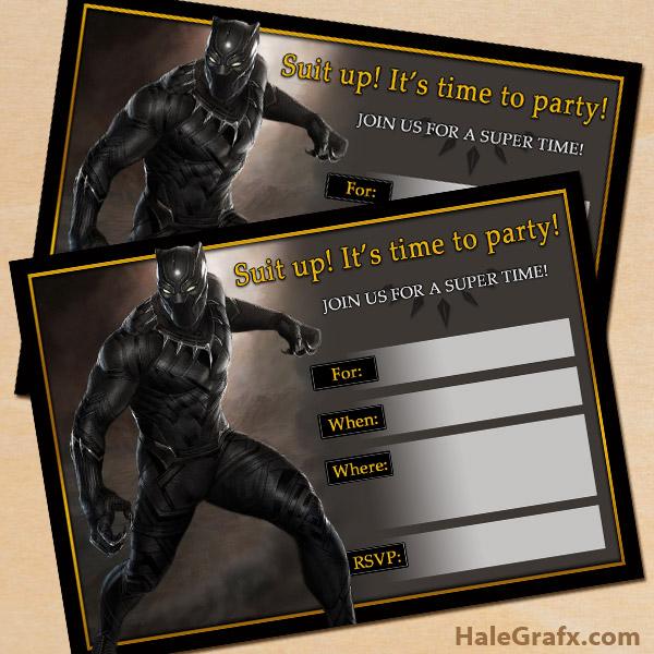 free printable marvel black panther