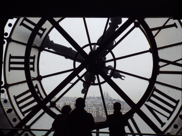 View acoss Paris from the Musee d'Orsay - photo by Katie @ Second-Hand Hedgehog travel blog