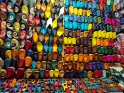 Shoes in the souk, Marrakesh - Katie Hale, Cumbrian poet / writer