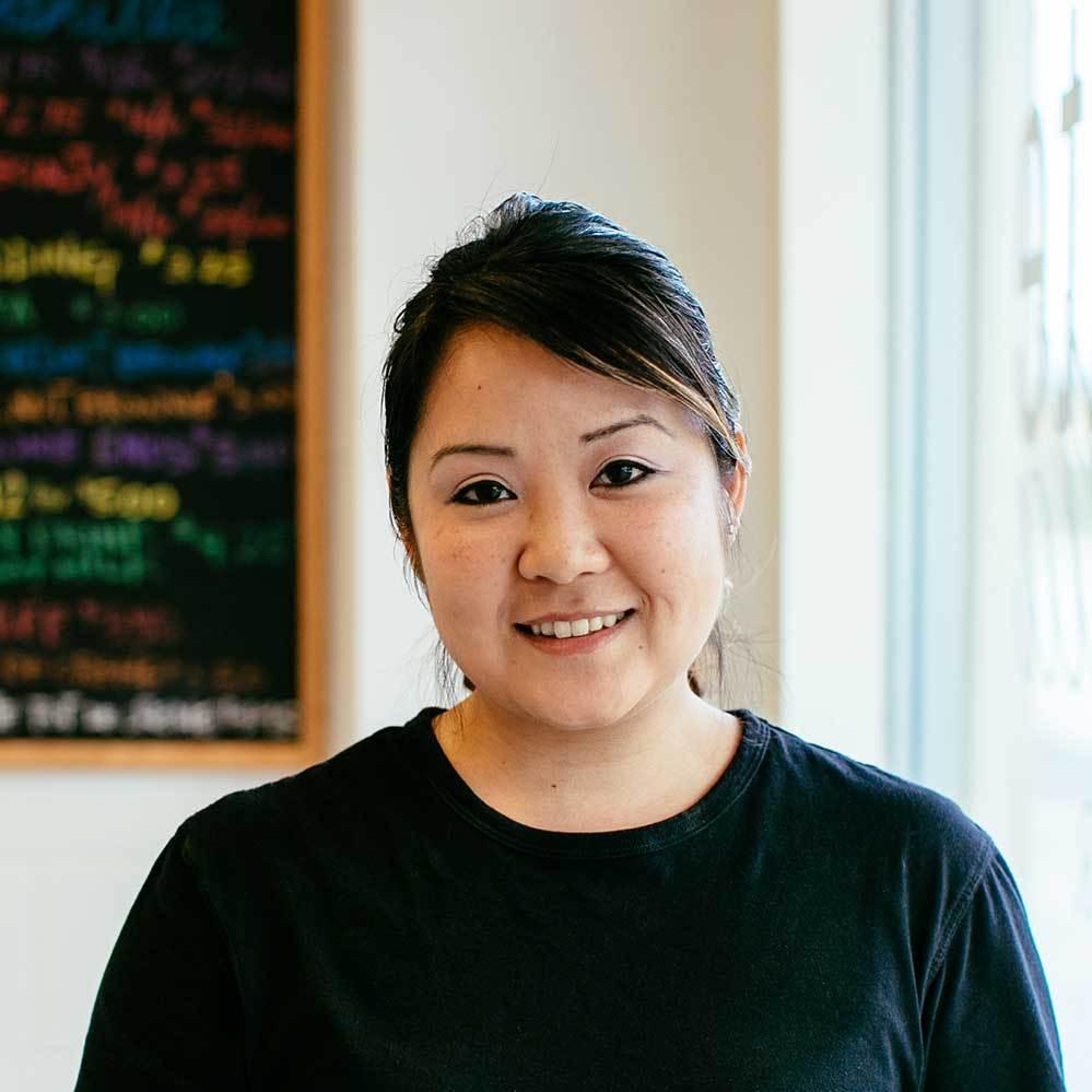 Owner of Chocolate + Vanilla Bakery Jill Yamashita